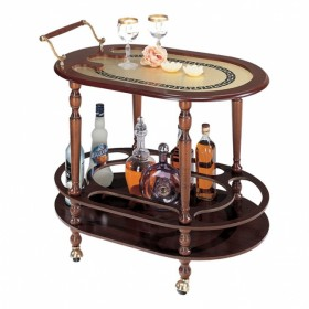 150 Сервировочный столик светлый, 52х77х63см