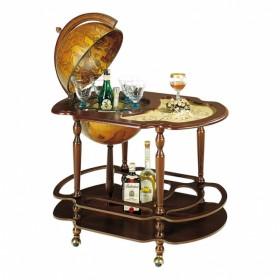 56 Глобус-бар со столиком, диам.40см.,62х87х93h