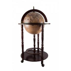 """Глобус бар """"Сокровища древнего мира"""" напольный d=33см, 44*44*88см"""