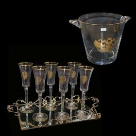 Набор для шампанского на 6 персон